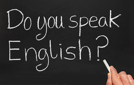 de we speak english
